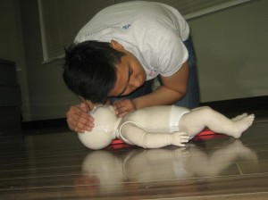 CPR certification course with St Mark James Training