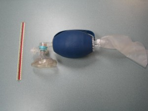 Bag Valve Mask for healthcare provider CPR